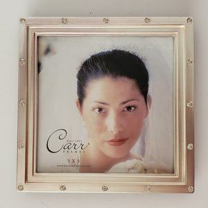 "Carr Stylish Sequin-Studded 5"" Photo Frame"
